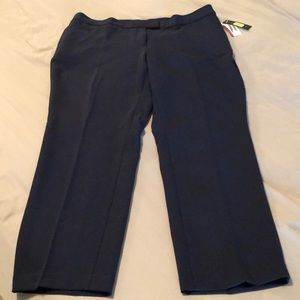 Investments Navy 5th Ave Pants